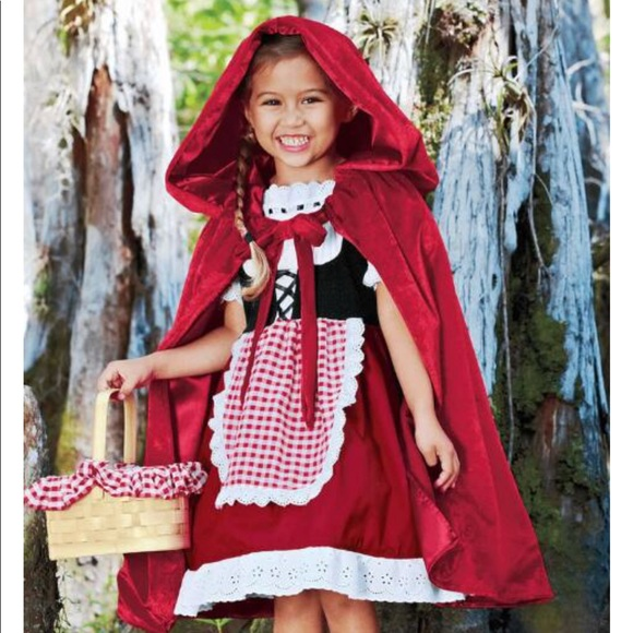ca9203360df Girls size 4 Little Red Riding Hood costume